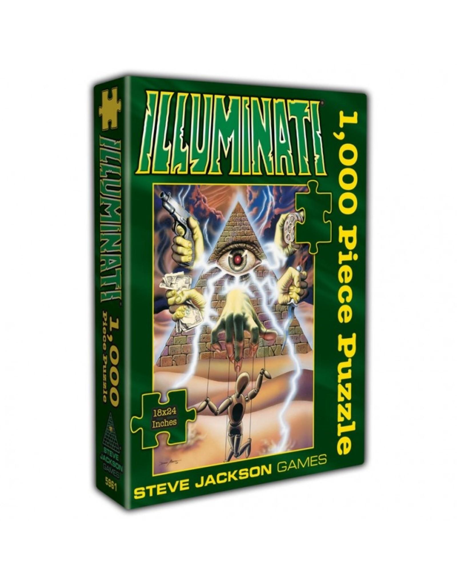 Puzzle: Illuminati 1000-Piece