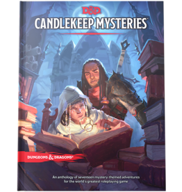 Wizards of the Coast D&D 5E: Candlekeep Mysteries (Standard Cover)