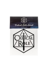 Critical Role Critical Role Logo Decal