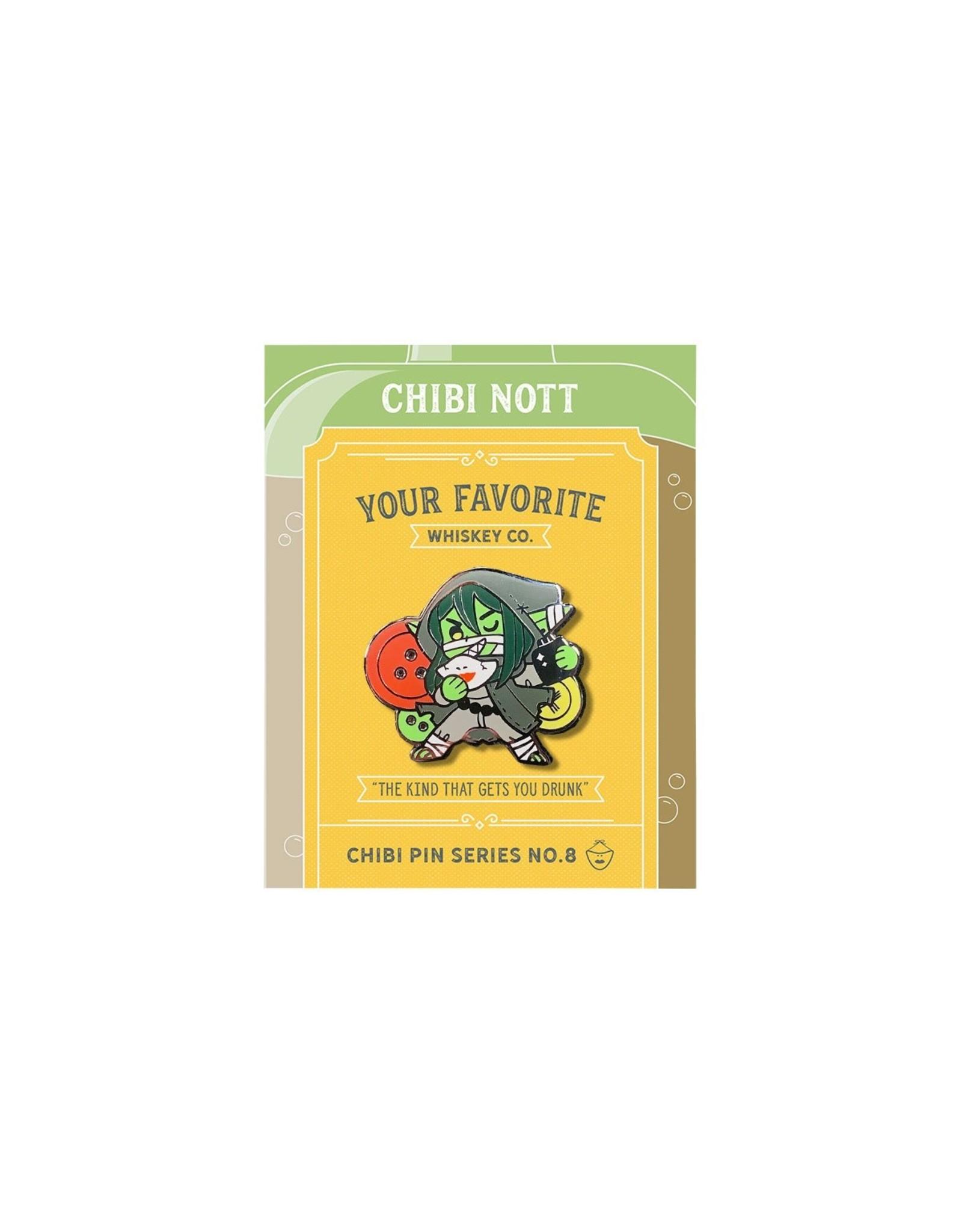Critical Role Critical Role Chibi Pin No. 8 - Nott