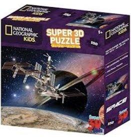 Jax Puzzle: 3D: Nat Geo: Satellite 150pc