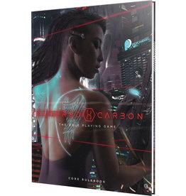 Renegade Games Studios Altered Carbon RPG: Core Rulebook Hardcover