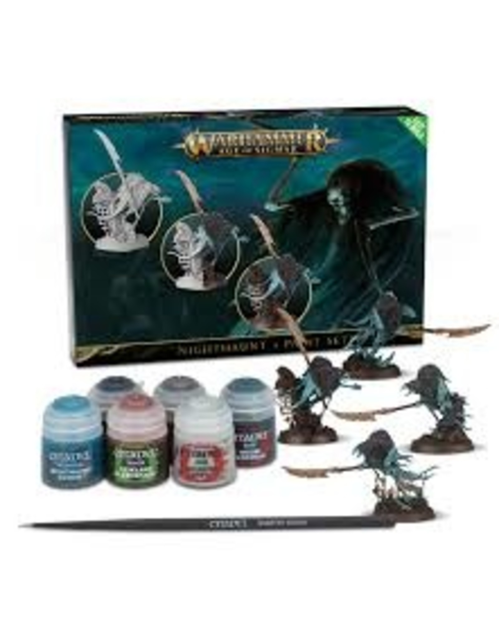 Age of Sigmar Nighthaunt + Paint Set