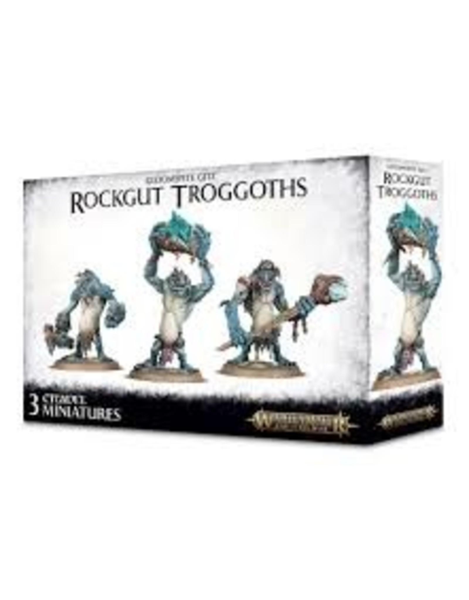 Age of Sigmar Gloomspite Gitz: Rockgut Troggoths