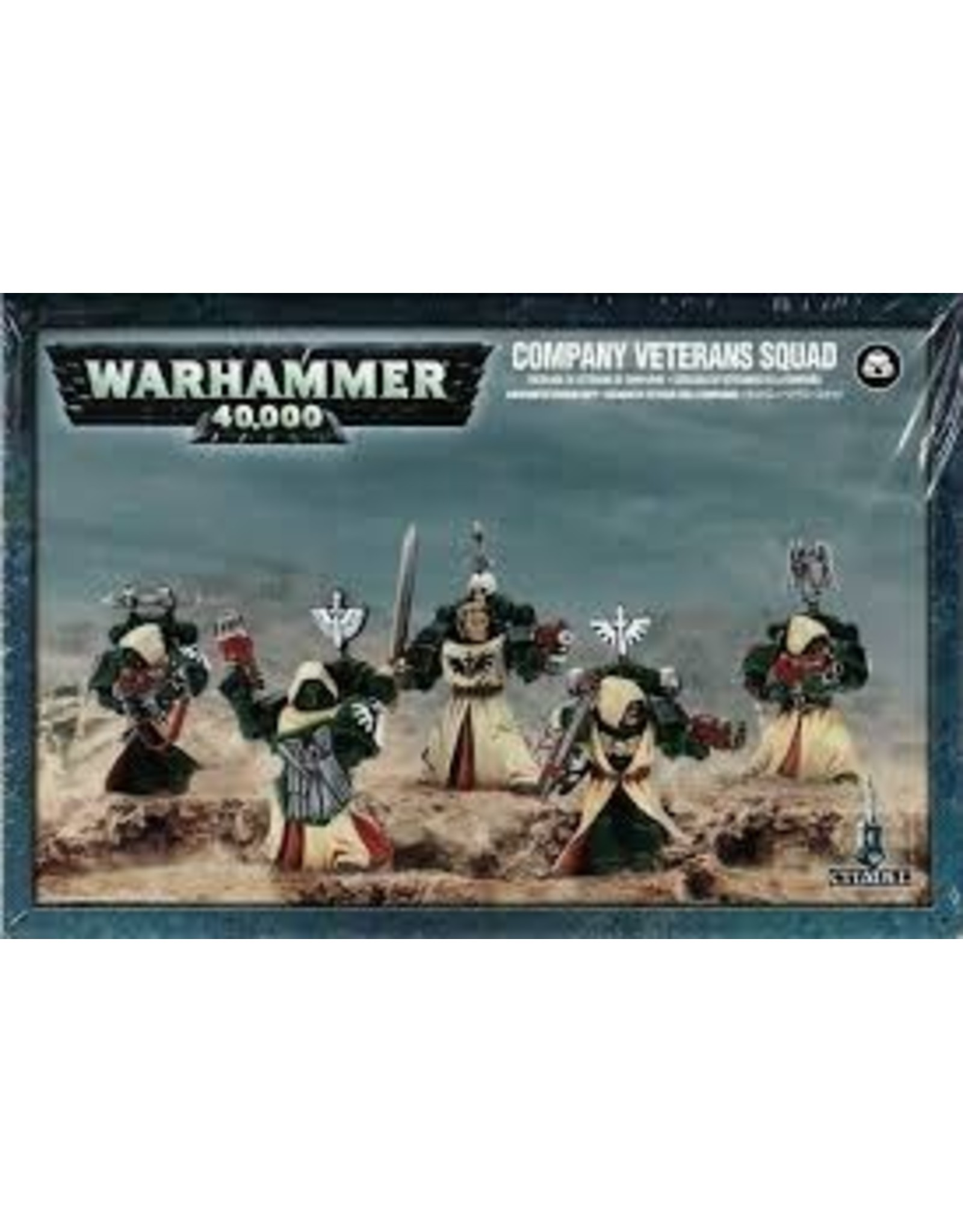 Warhammer 40K Dark Angels Company Veteran Squad