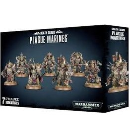Warhammer 40K Chaos: Death Guard Plague Marines
