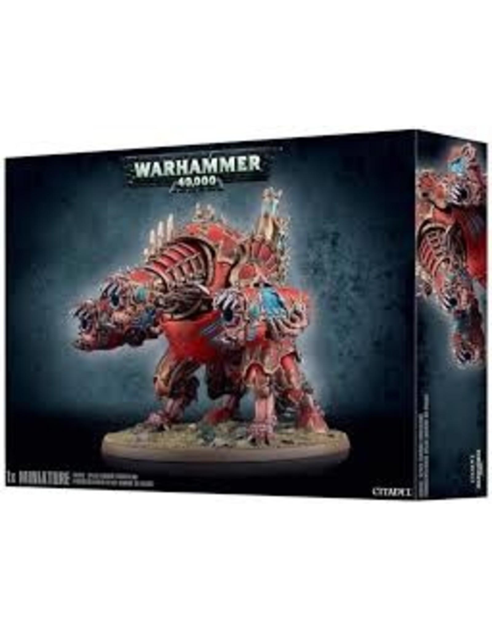 Warhammer 40K Chaos Marine Forgefiend