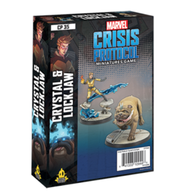 Atomic Mass Games Marvel Crisis Protocol: Crystal and Lockjaw