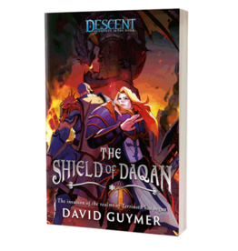 Fantasy Flight Games Descent: The Shield of Daqan (Novel) (Pre Order)