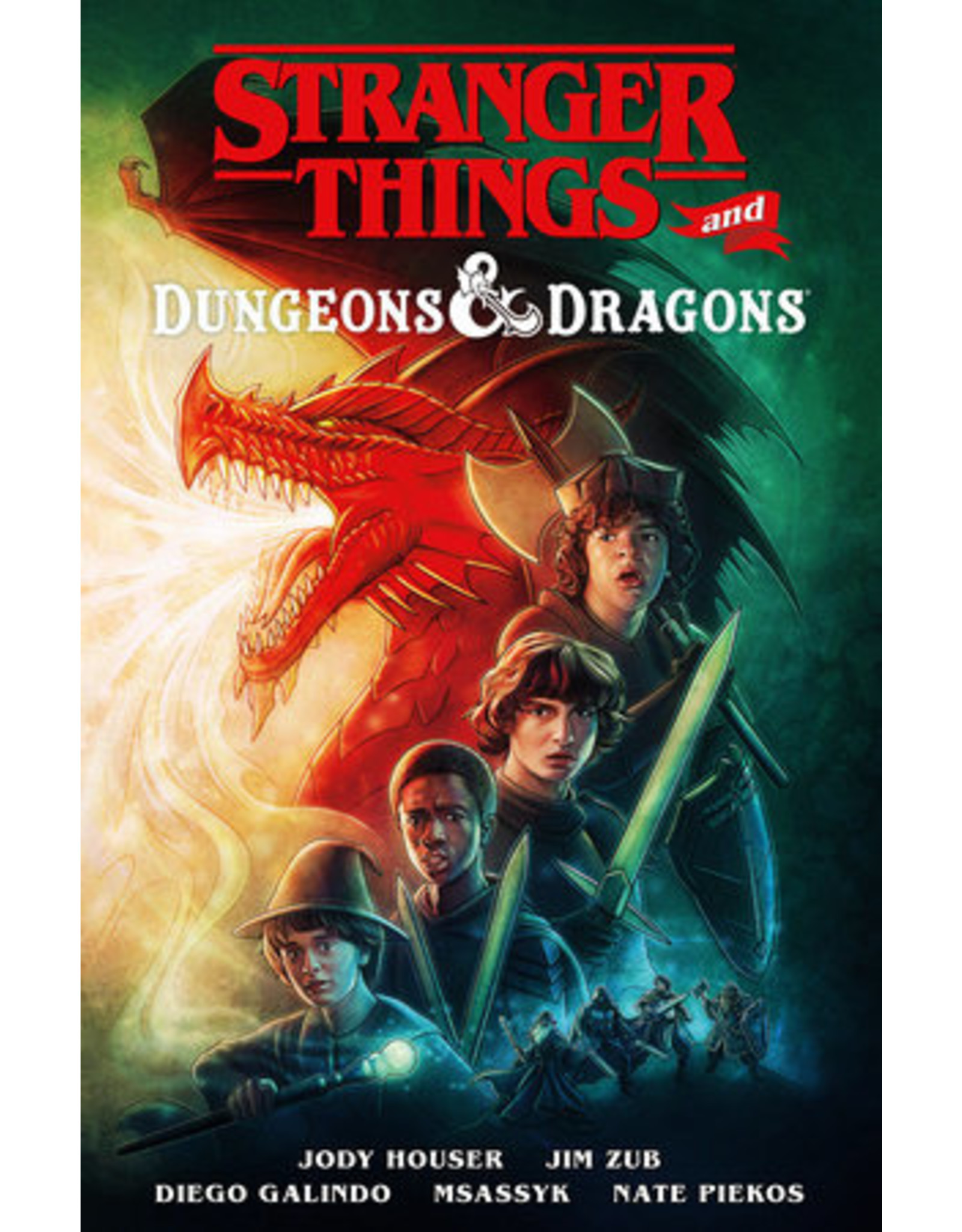 Dark Horse Comics Stranger Things and Dungeons & Dragons