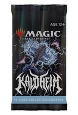 Magic Magic The Gathering: Kaldheim Collector Booster Pack