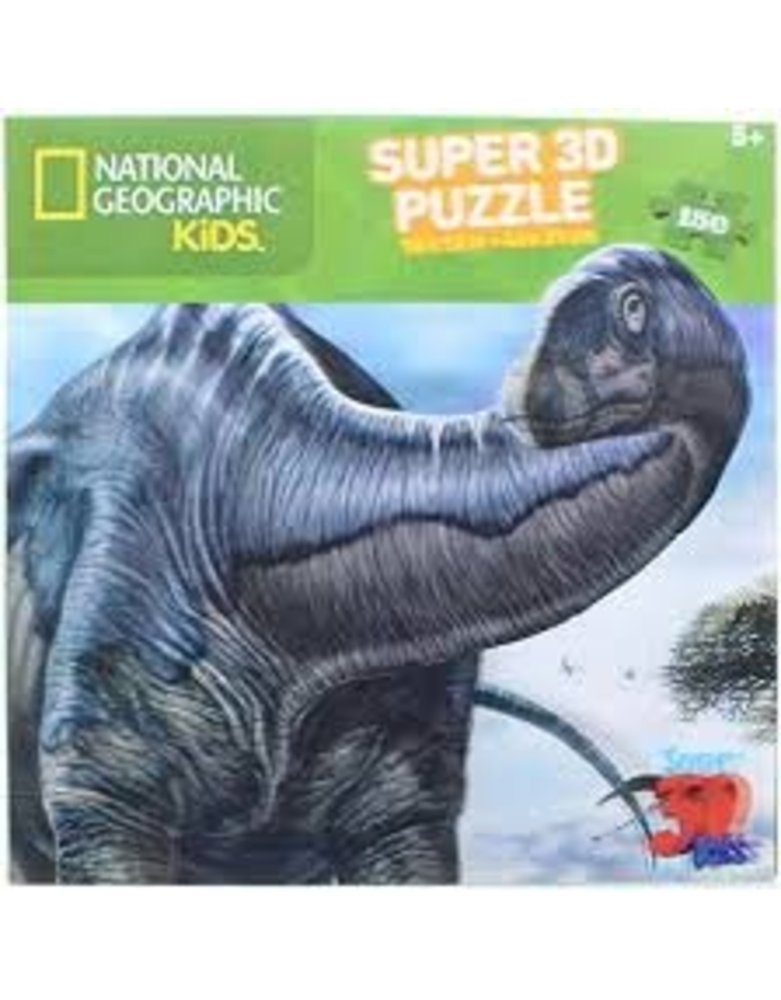 Jax Puzzle: 3D: Nat Geo: Argentinosaurus 150pc