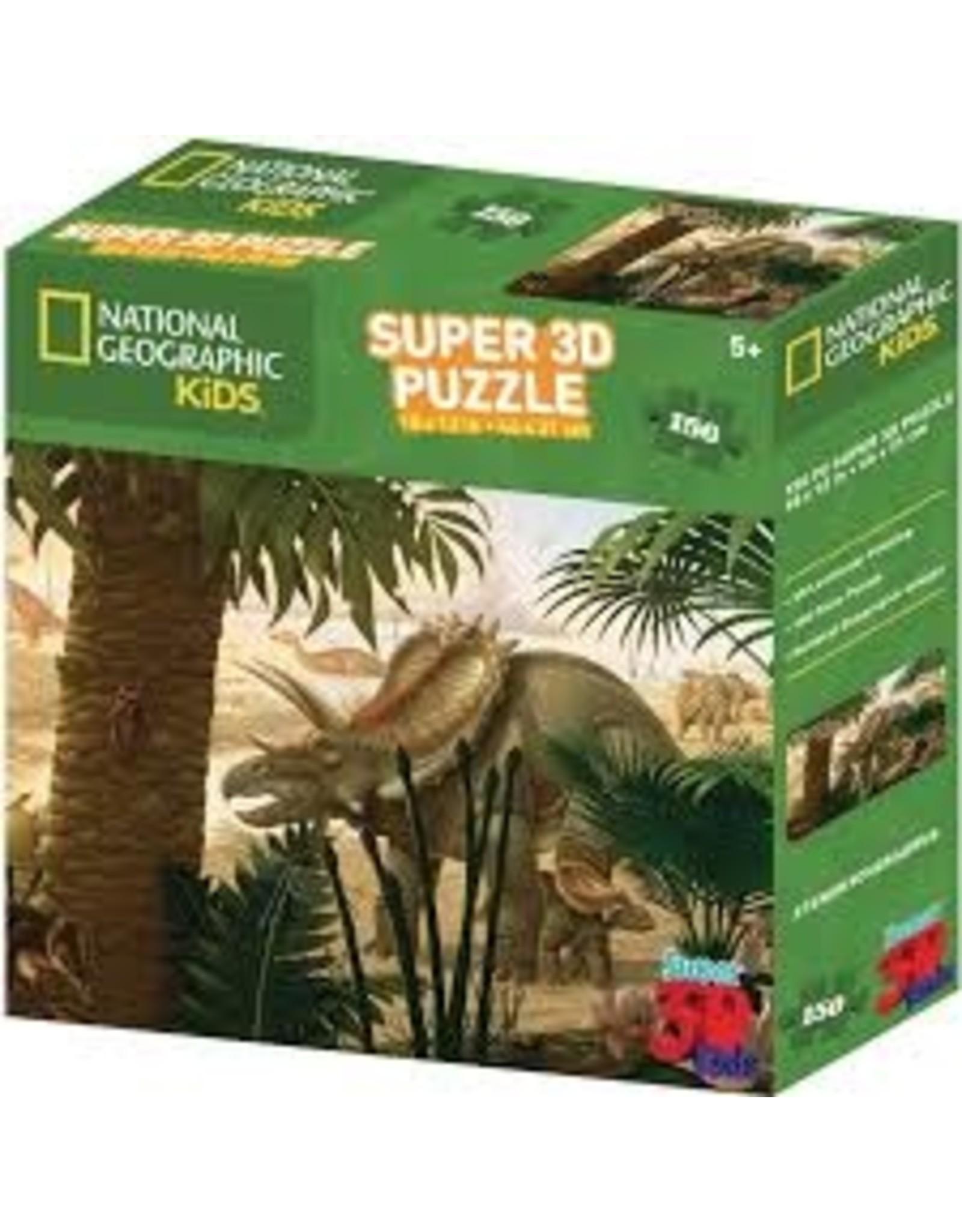 Jax Puzzle:3D: Nat Geo: Stenonychosaurus 150pc