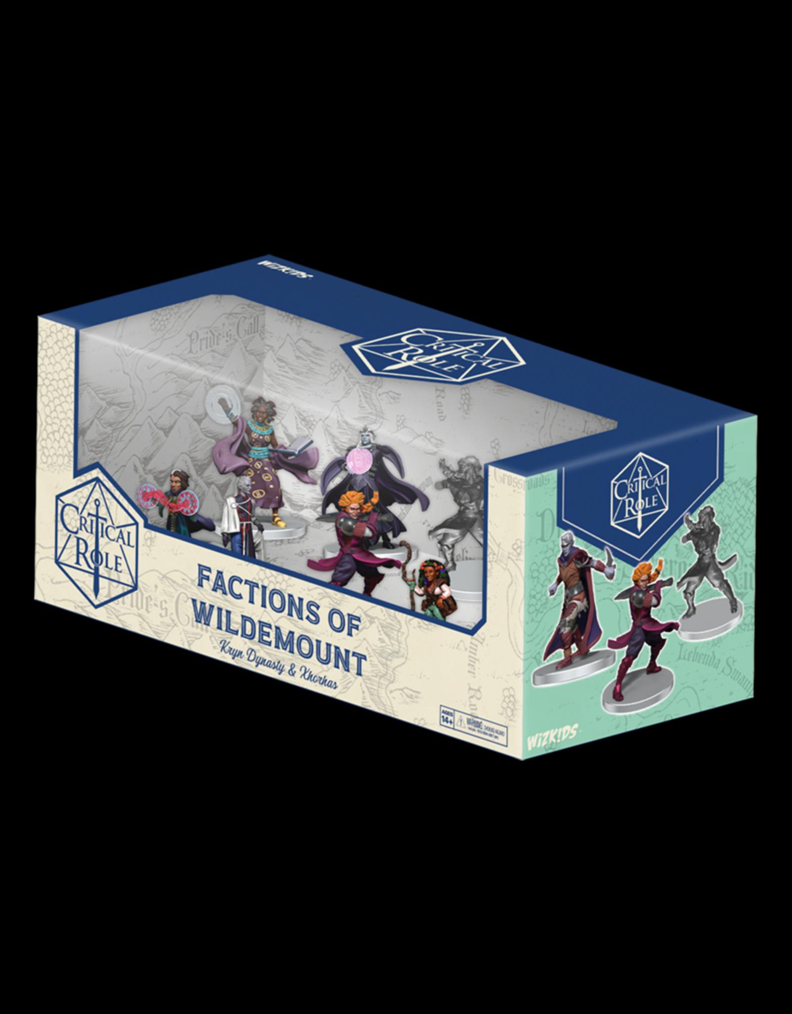 Wiz Kids Critical Role: Factions of Wildemount Kryn Dynasty & Xhorhas Box Set