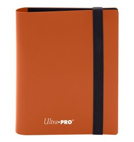 Ultra Pro Binder: 2pkt: PRO: Eclipse: Pumpkin OR