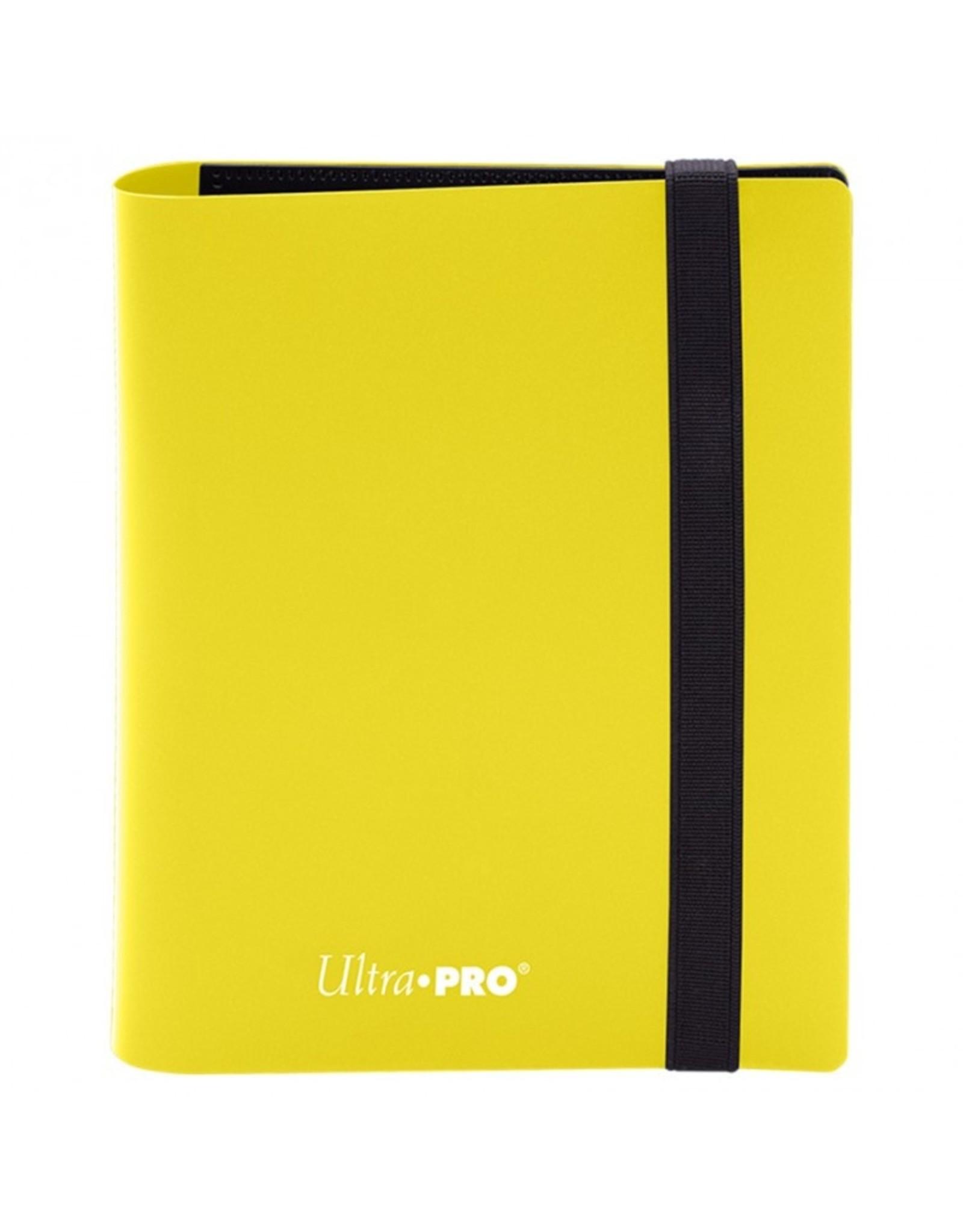 Ultra Pro Binder: 2pkt: PRO: Eclipse: Lemon YE