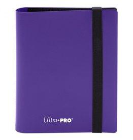 Ultra Pro Binder: 2pkt: PRO: Eclipse: Royal PU