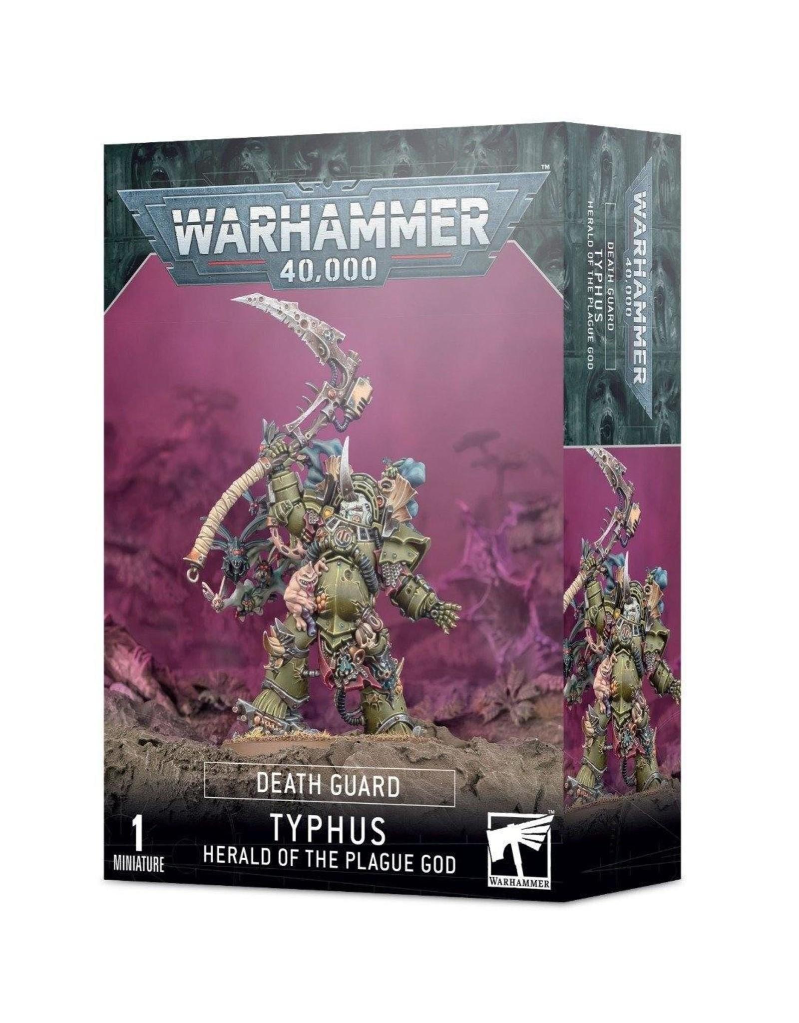 Warhammer 40K Death Guard: Typhus, Herald of the Plague God