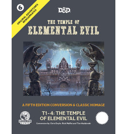 Goodman Games D&D 5E: Original Adventures Reincarnated #6: The Temple of Elemental Evil (Pre Order)