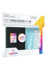 GameGenic DP: Matte: Double Sleeving Pack (100)