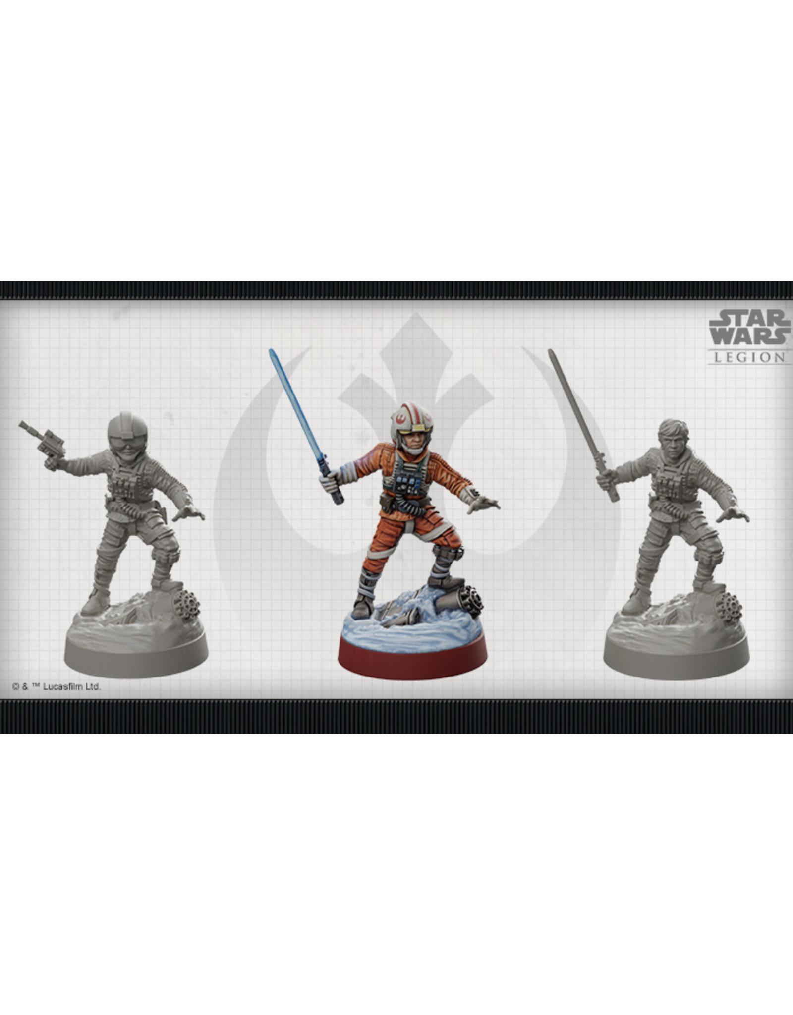 Fantasy Flight Games Star Wars Legion Limited Edition Luke Skywalker Commander Expansion