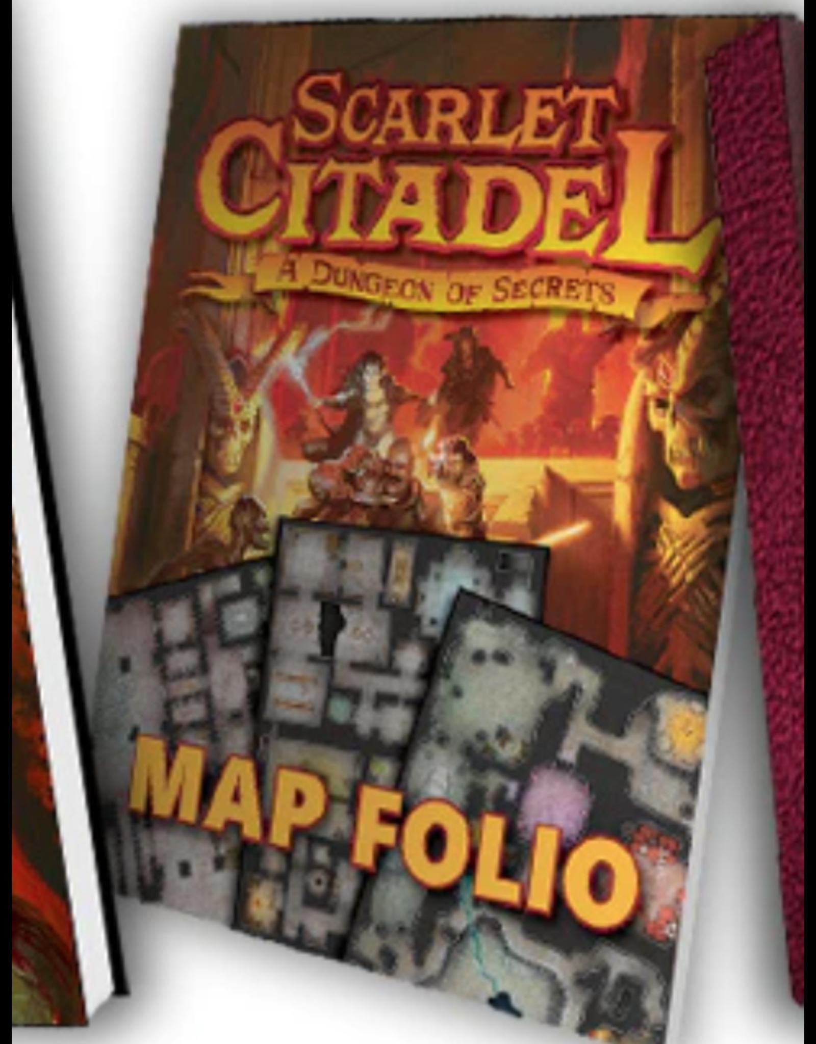 Kobold Press Scarlet Citadel - Map Folio