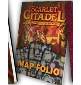 Kobold Press Scarlet Citadel - Map Folio