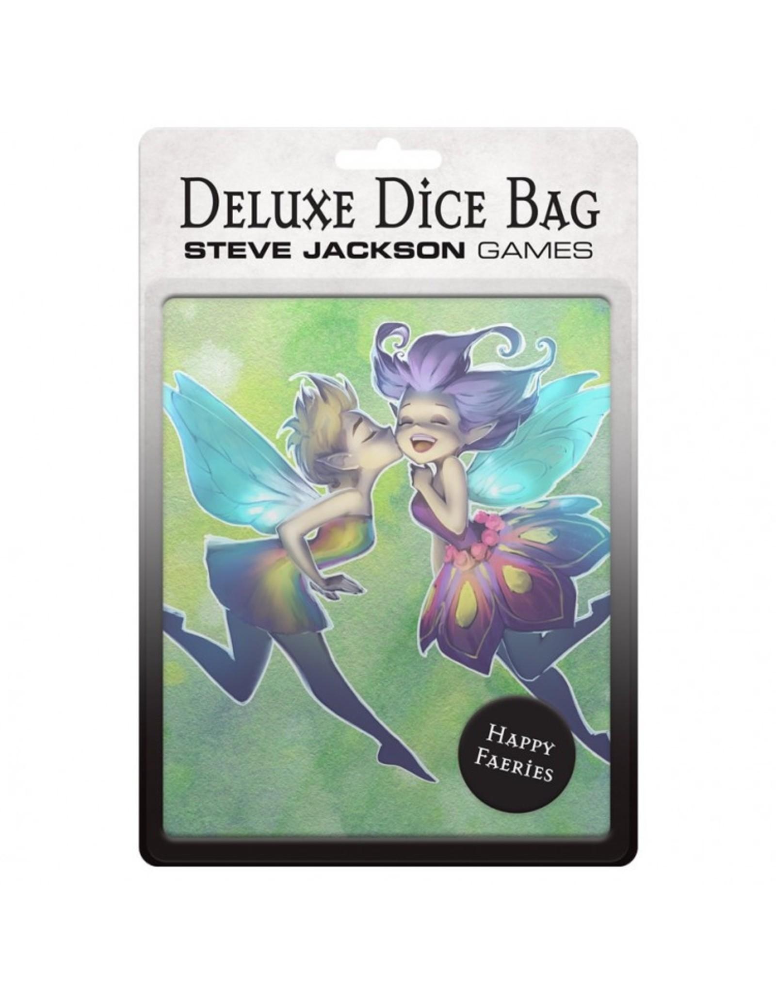 Steve Jackson Games Dice Bag: Deluxe Happy Faeries