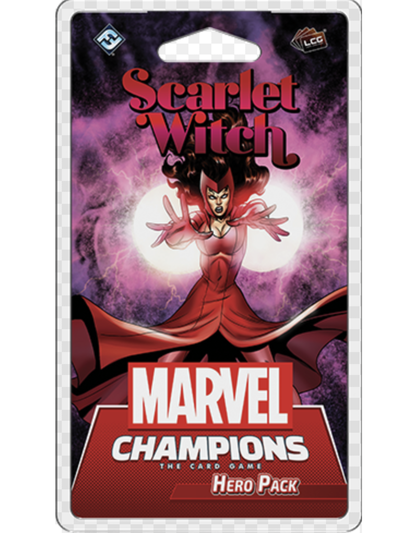 Fantasy Flight Games Marvel Champions LCG: Scarlet Witch Hero Pack