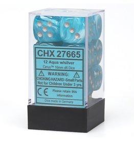 Chessex d6Cube16mmCIR AQsv (12)