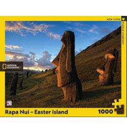 New York Puzzle Company Rapa Nui Easter Island (1000)