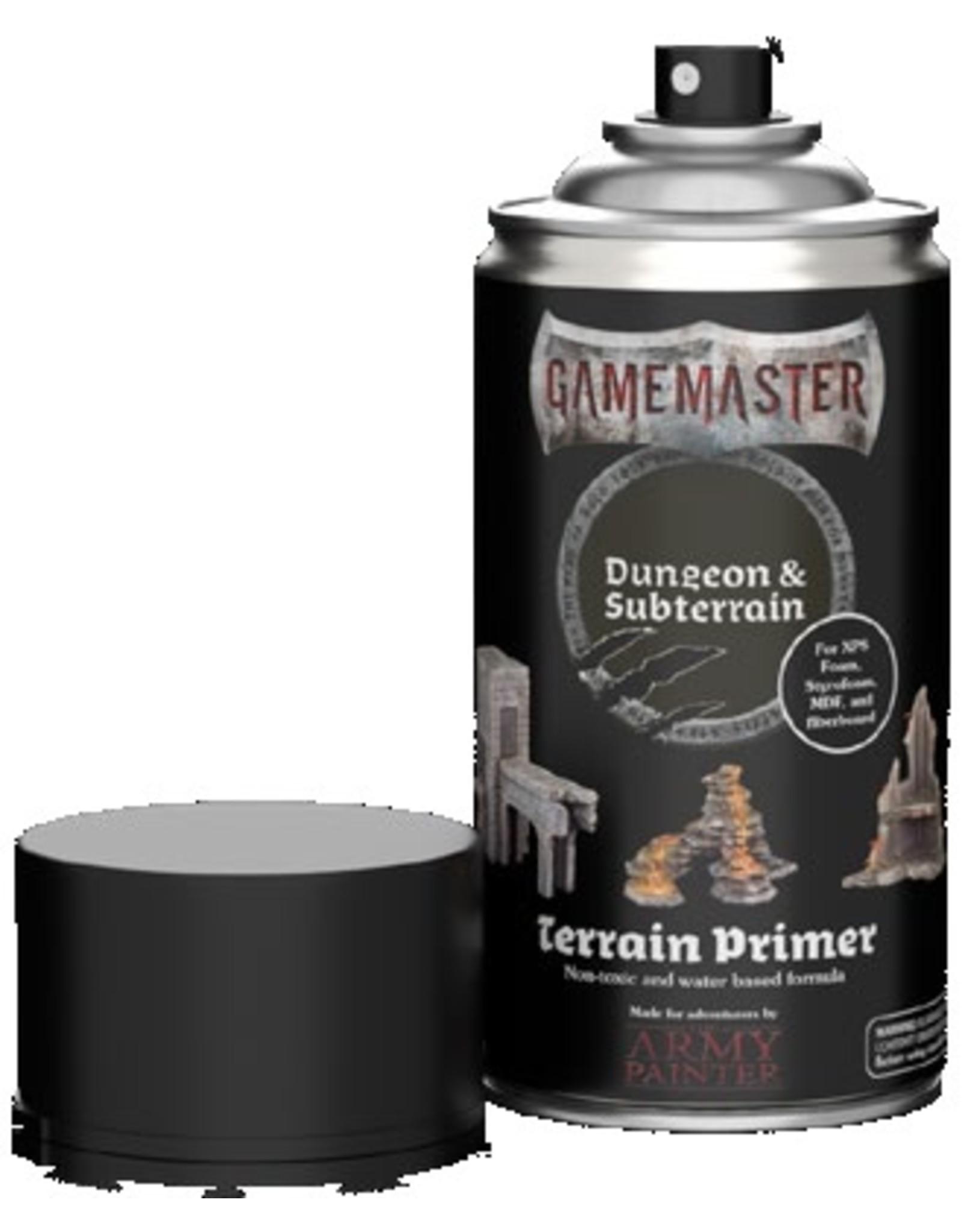 Army Painter Gamemaster: Terrain Primer: Dungeon & Subterrain (Pre Order)
