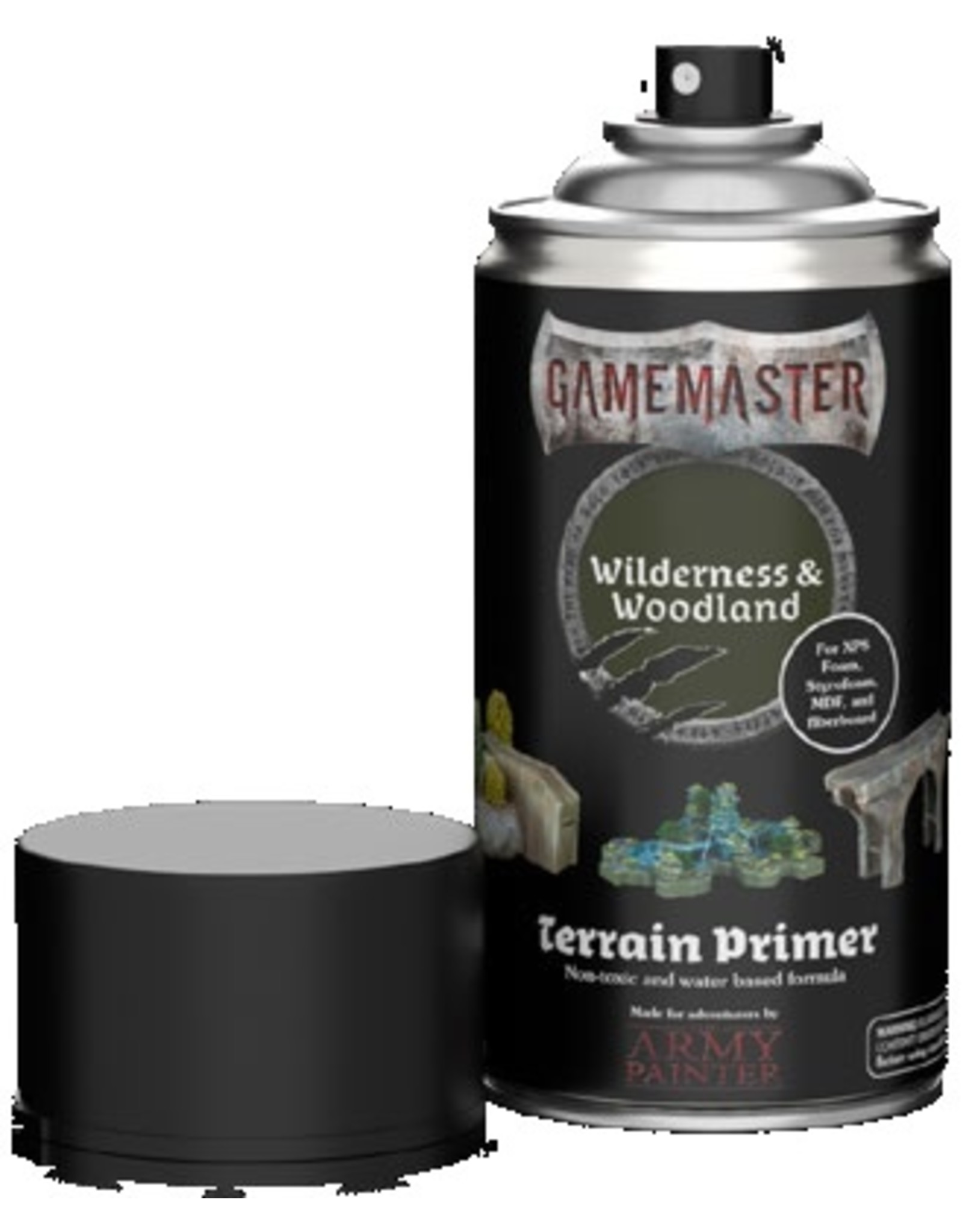 Army Painter Gamemaster: Terrain Primer: Wilderness & Woodlands (Pre Order)