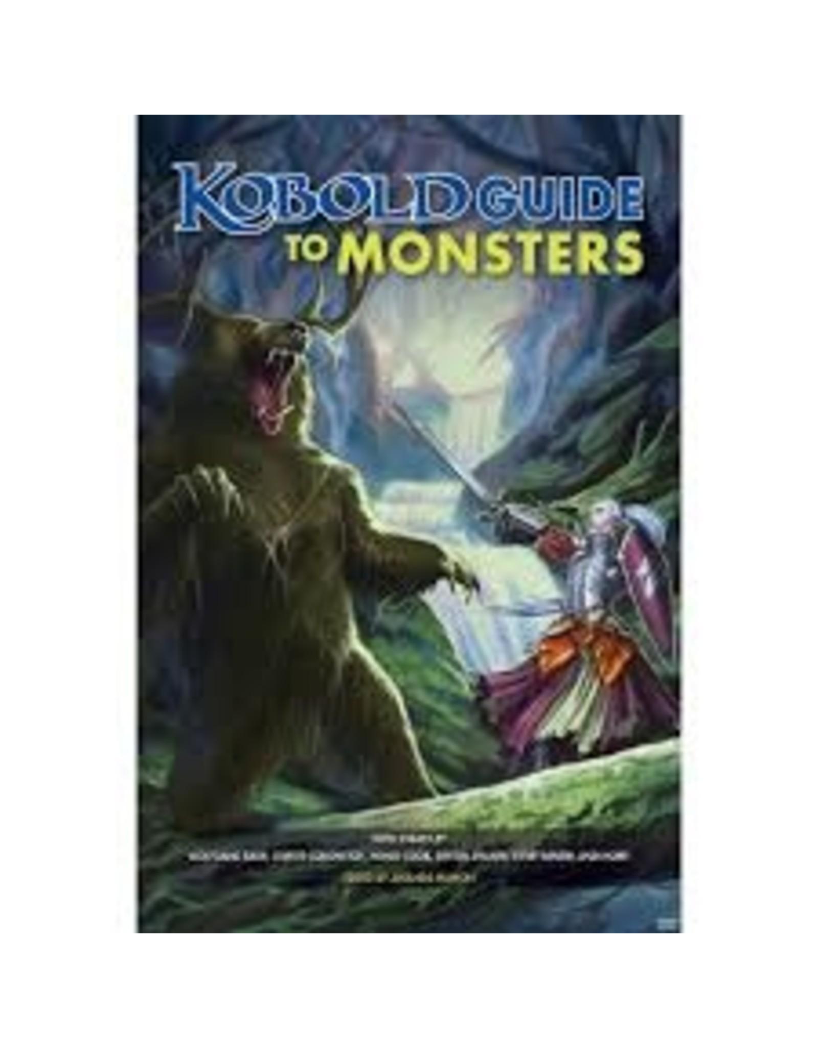 Kobold Press Kobold: Guide to Monsters (Pre Order)