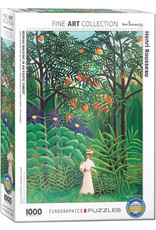 Eurographics Woman in an Exotic Forest