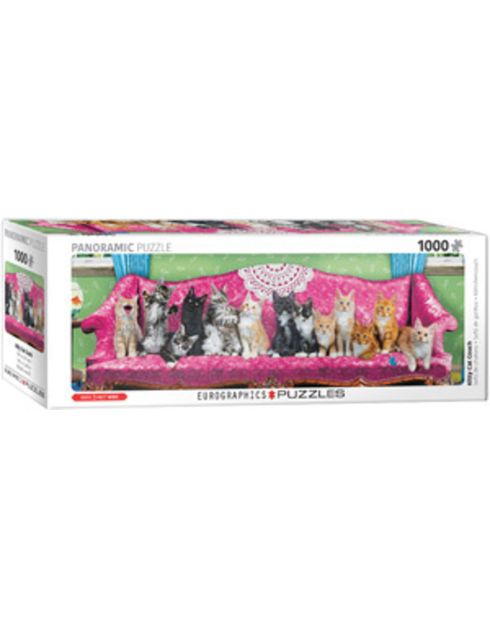 Eurographics Kitty Cat Couch