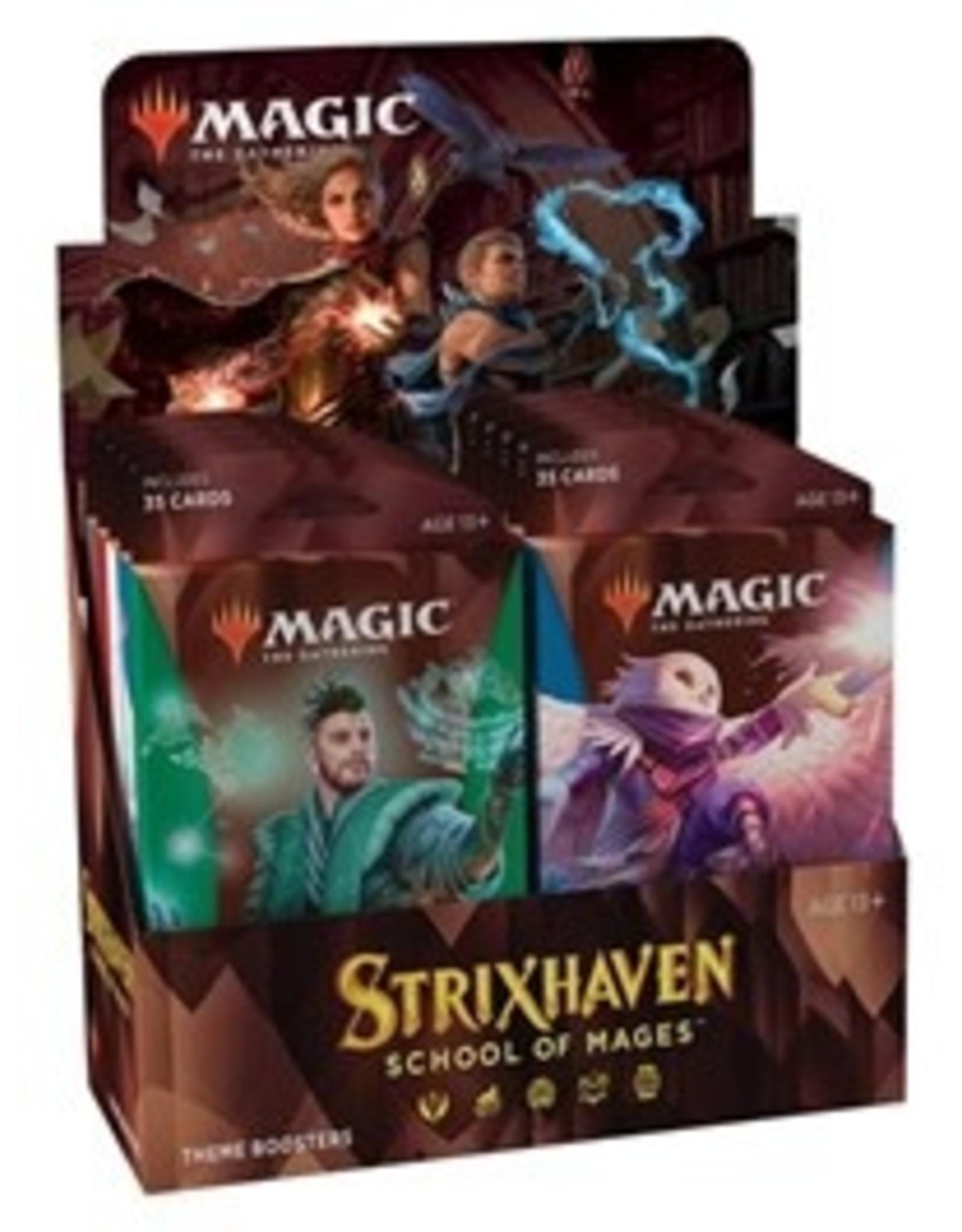 Magic Magic The Gathering: Strixhaven Theme Booster