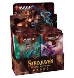 Magic Magic The Gathering: Strixhaven Theme Booster (Pre Order)