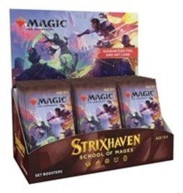 Magic Magic The Gathering: Strixhaven Set Booster (30Ct) (Pre Order)