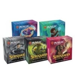 Magic Strixhaven: School of Mages - Prerelease Pack [Set of 5]  with Buy a Box Promo Card (Pre Order)