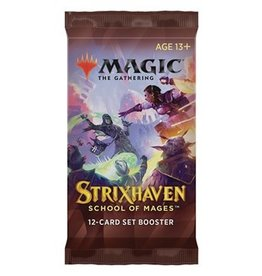 Magic Magic The Gathering: Strixhaven Set Booster Pack (Pre Order)
