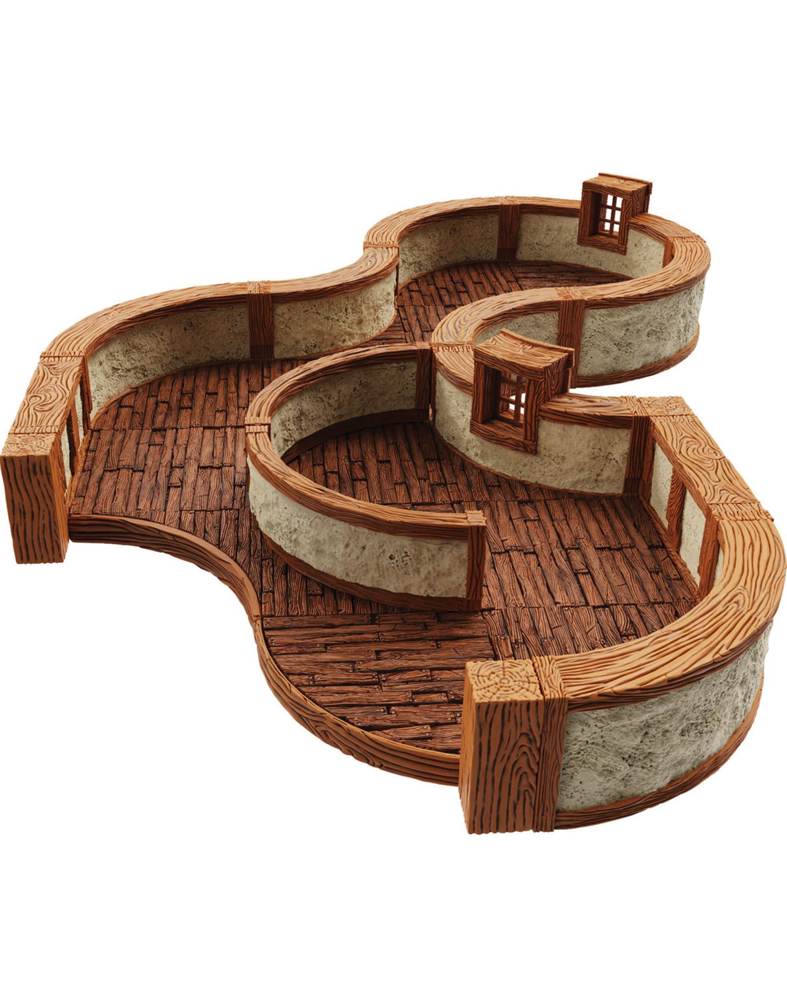 Wiz Kids WarLock Tiles: Town & Village III - Curves