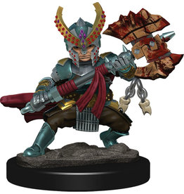 Wiz Kids D&D Icons of the Realms Premium Figures W5 Halfling Fighter Female