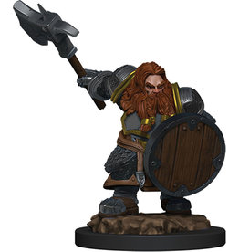 Wiz Kids D&D Icons of the Realms Premium Figures W5 Dwarf Fighter Male