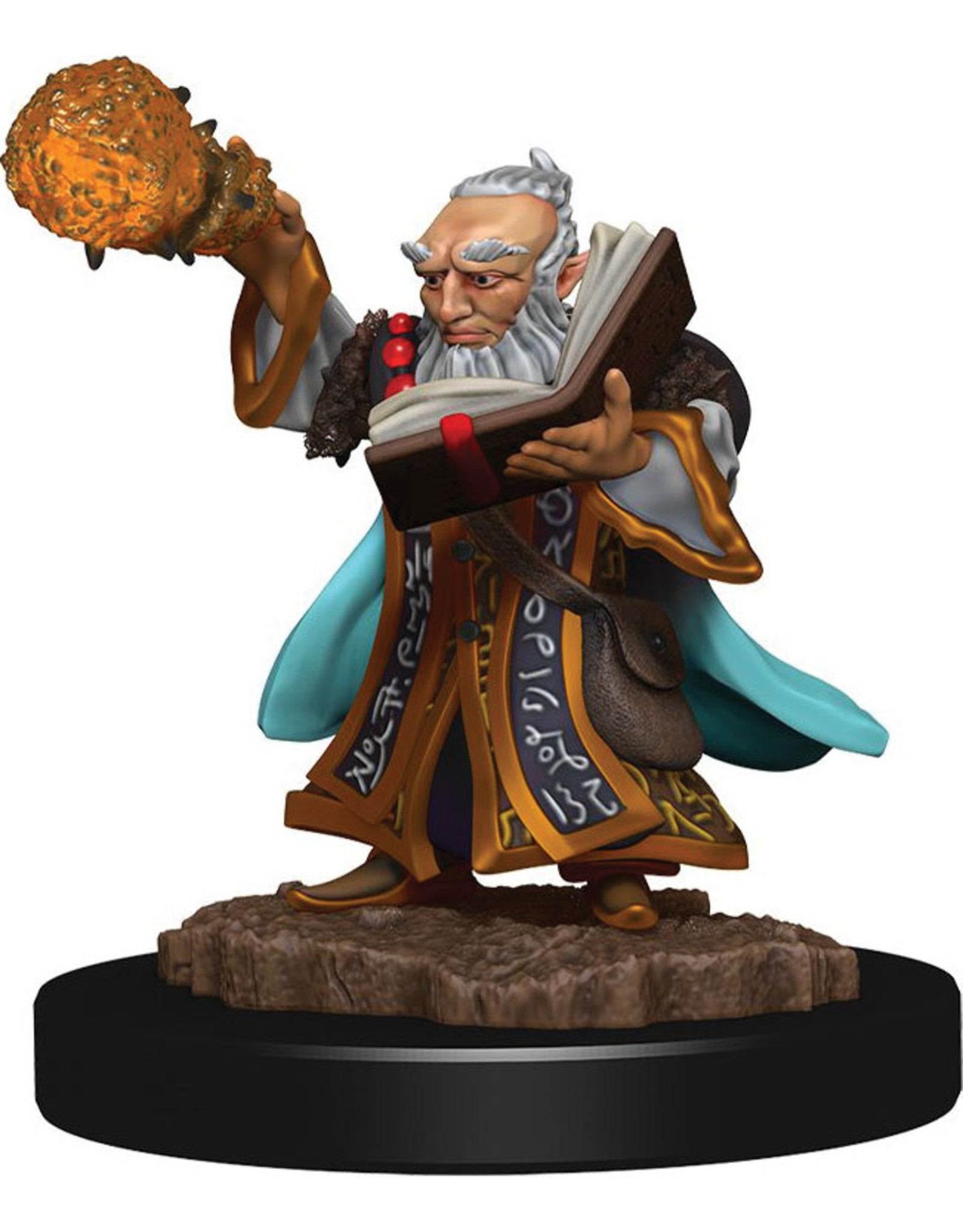 Wiz Kids D&D Icons of the Realms Premium Figures W5 Gnome Wizard Male