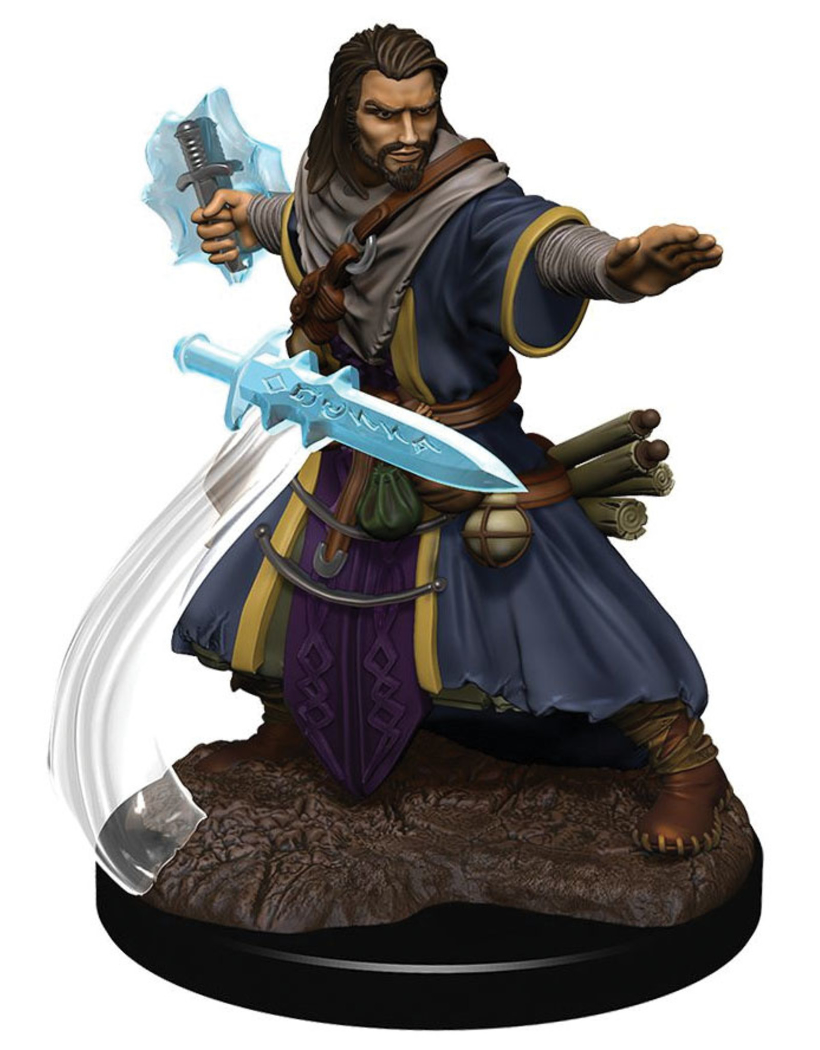 Wiz Kids D&D Icons of the Realms Premium Figures W5 Human Wizard Male