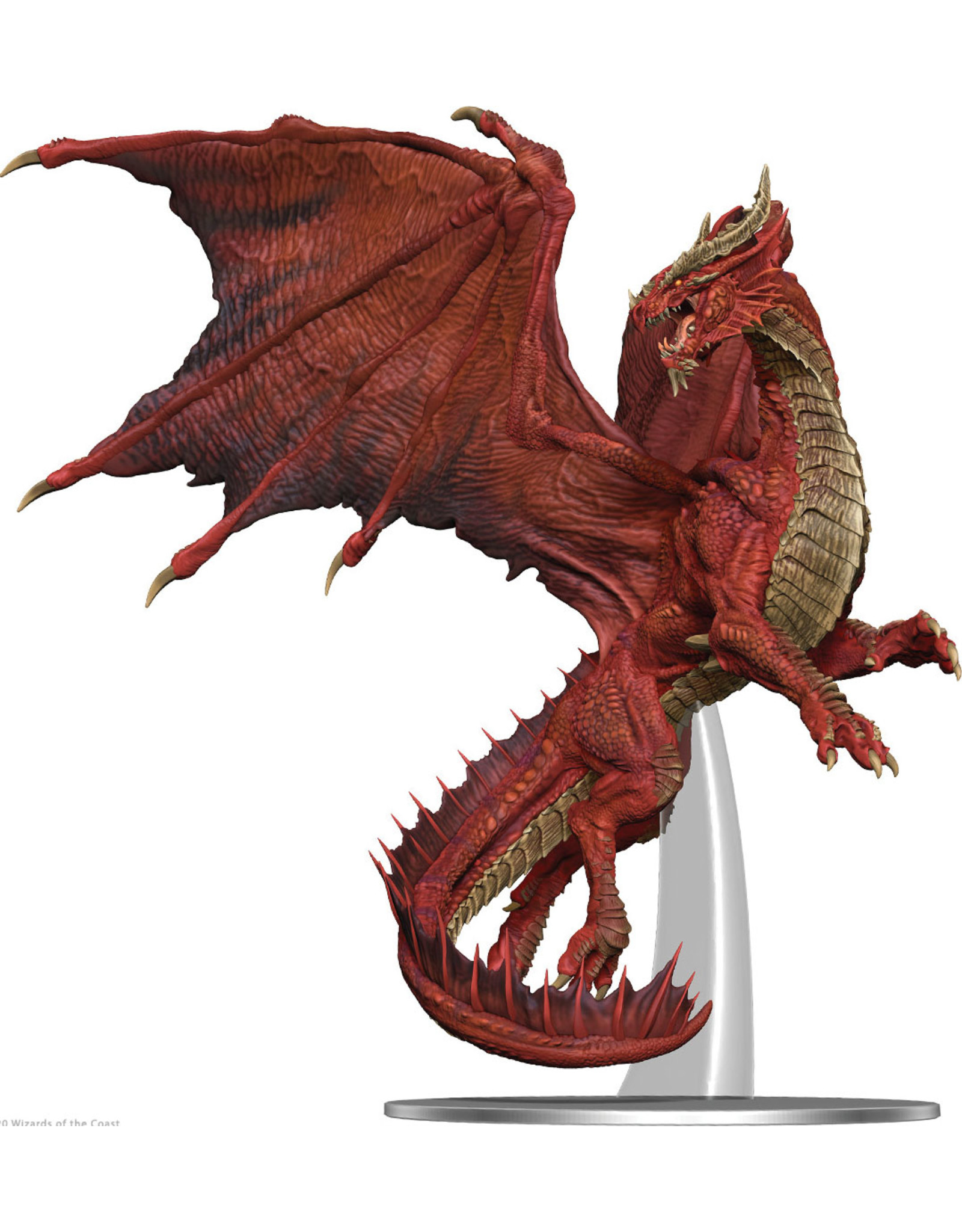 Wiz Kids D&D: Icons of the Realms - Adult Red Dragon Premium Figure
