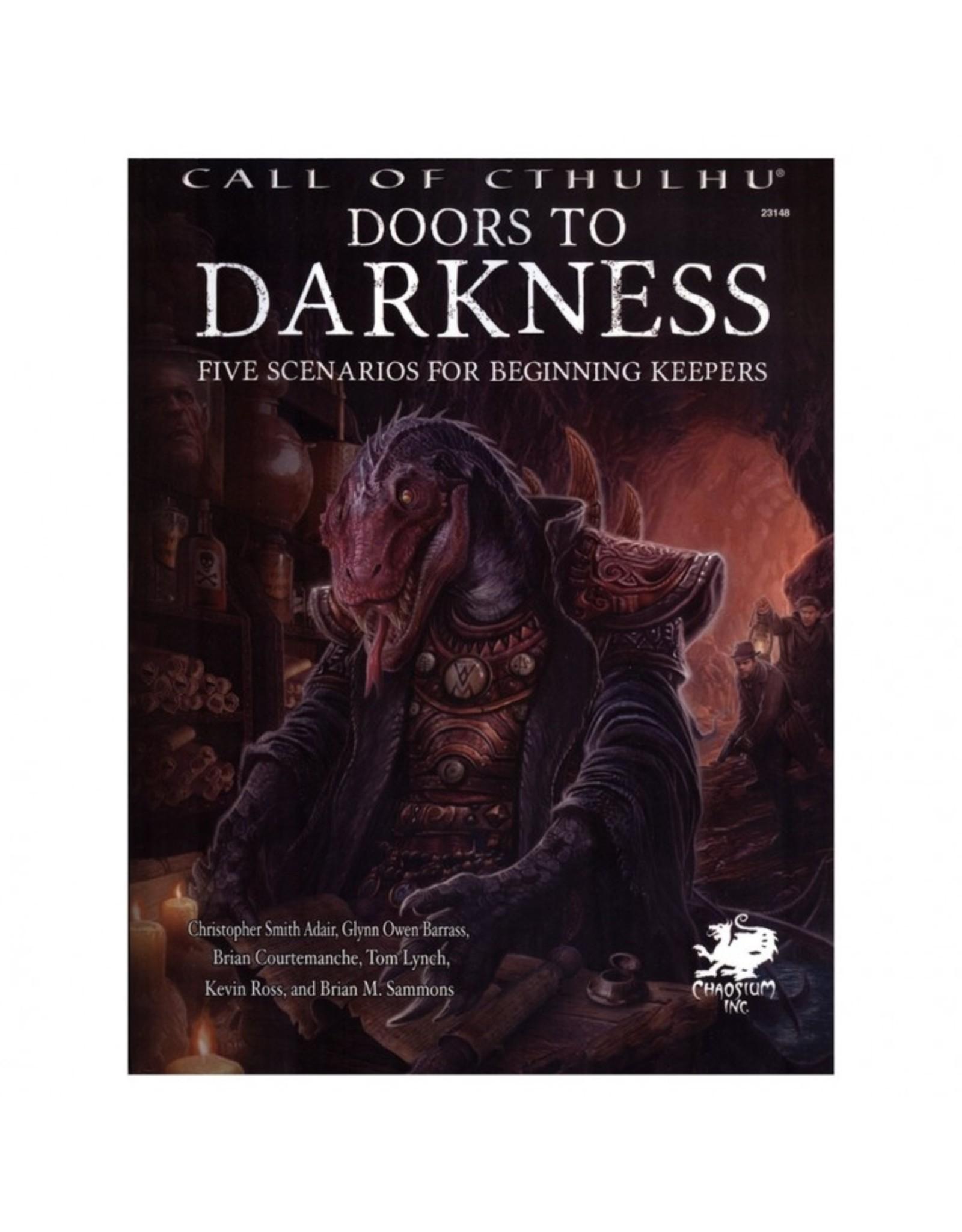 Chaosium Call of Cthulhu: Doors to Darkness