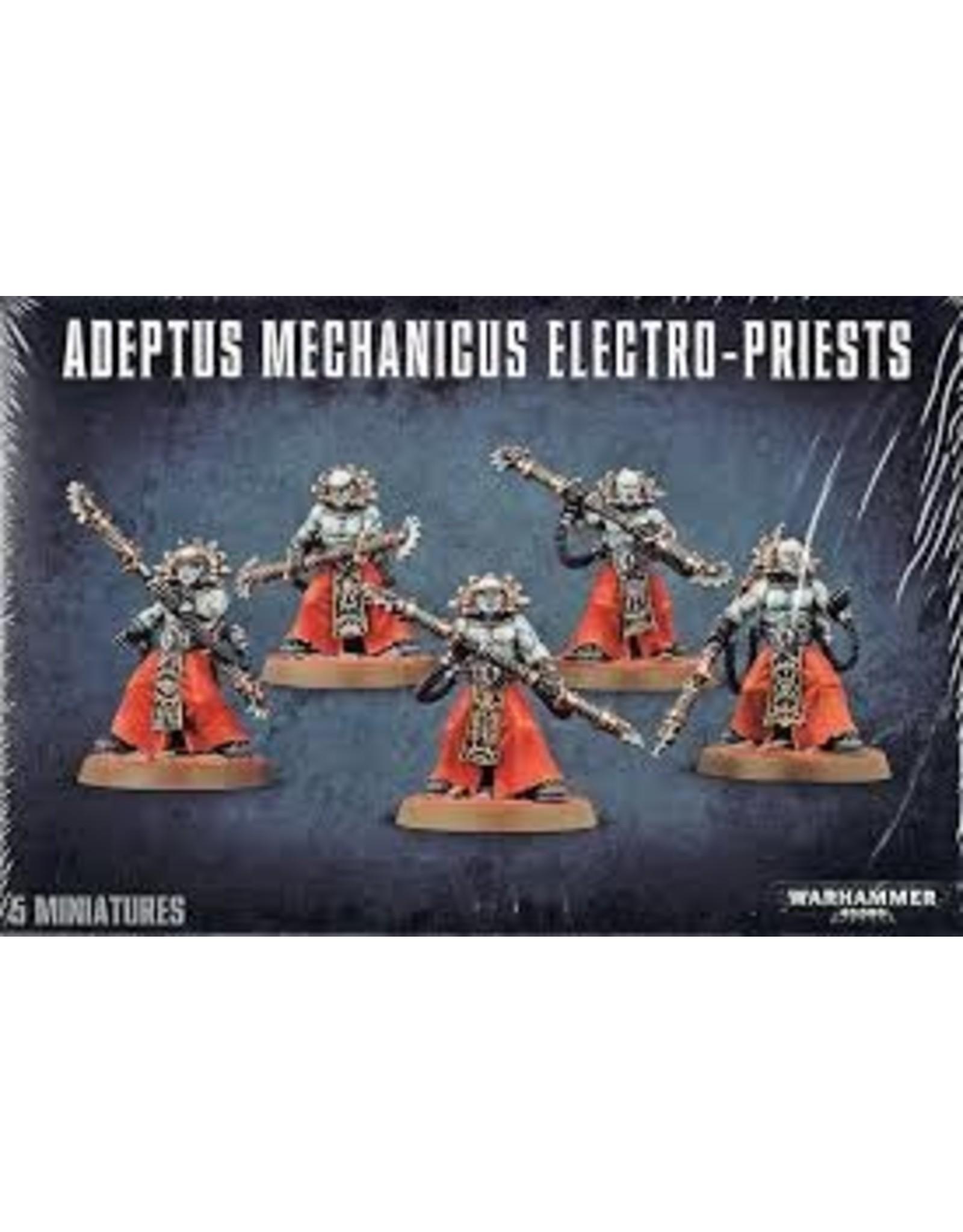 Warhammer 40K Adeptus Mechanicus Electro-Priests
