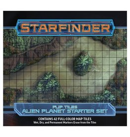 Paizo Publishing SFRPG: Flip-Tiles: Alien Planet Starter